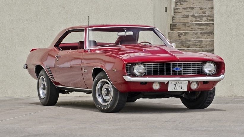 Muscle Car Collection 1969 Chevrolet Camaro Zl1 Rarest American