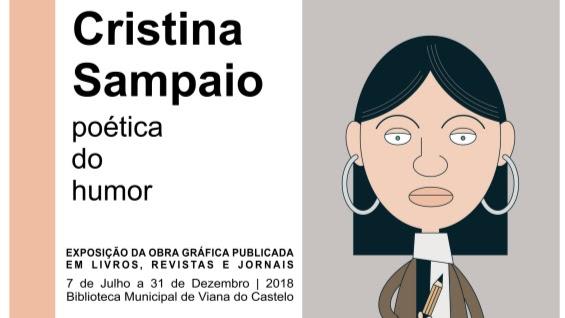 """Exposição - """"Cristina Sampaio – Poética do Humor"""""""