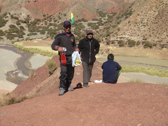 Mittagessen zwischen Bolivien und Argentinien