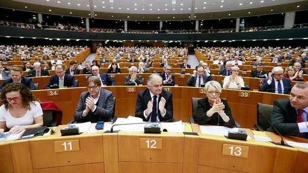 El Parlamento Europeo reconoció a Guaidó como presidente de Venezuela