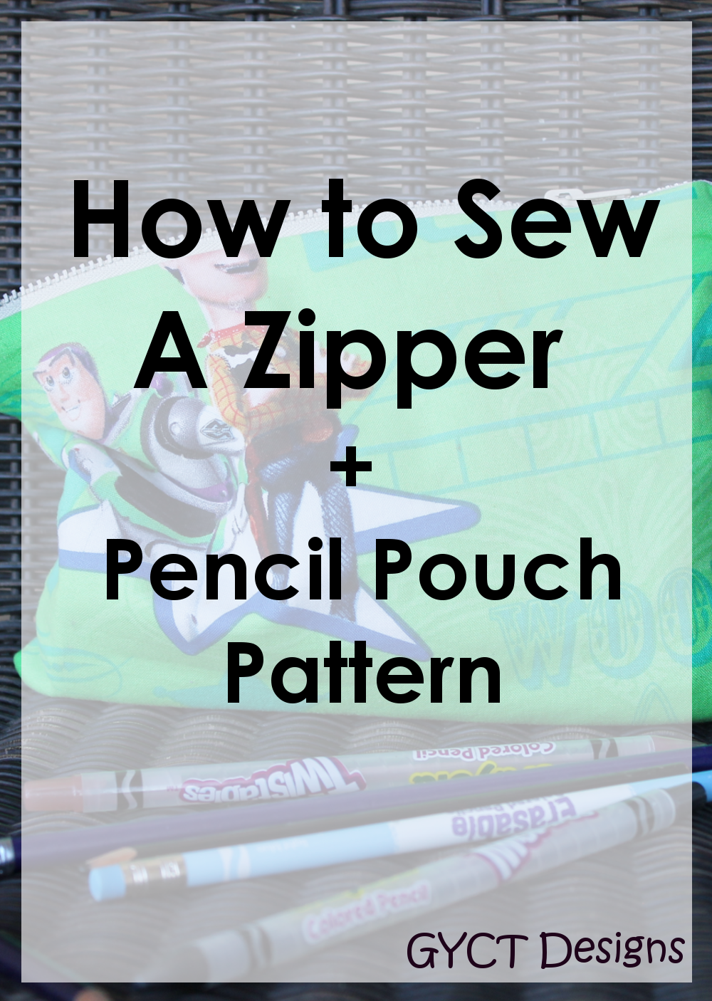 how to make a pencil pouch without a zipper