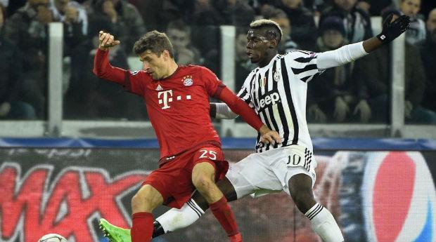 Le Bayern Munich de Muller prend une option sur la qualification face à la Juve de Pogba