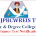 MJPTBCWREIS RJC CET , RDC CET Results TS BC Welfare Junior,Degree Colleges Inter, Degree Entrance Notification 2018 @mjptbcwreis.cgg.gov.in