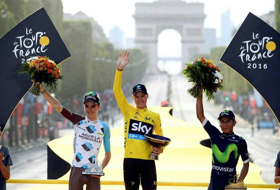 Resultado de imagen de Podium Tour de Francia 2016