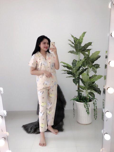 Đồ bộ kate tay ngắn đẹp giá sỉ rẻ tại Tây Ninh