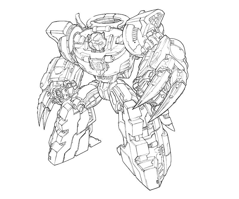 transformers coloring pages grimlock wallpaper - photo #25