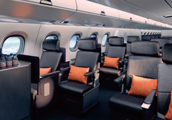 Embraer E190-E2 cabin interior