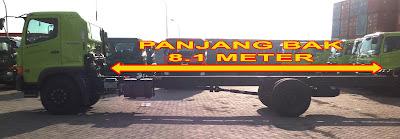 panjang truk hino ranger fg 235 js surabaya