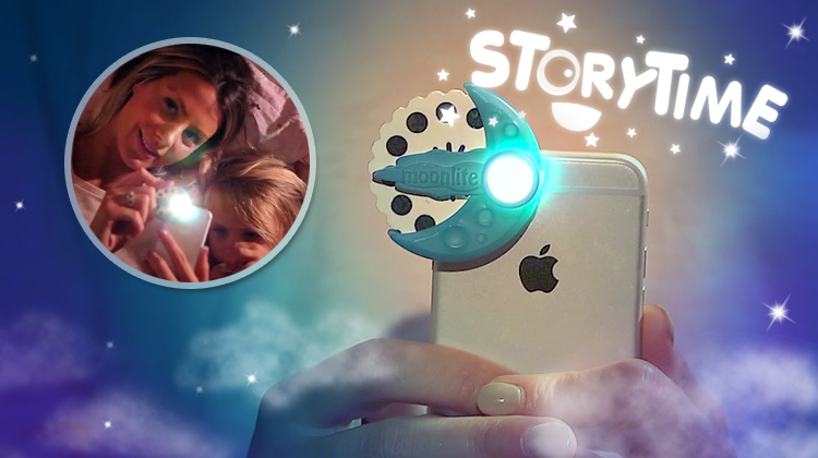 Hi-tech bedtime stories for kids - from iPhone