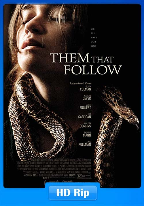 Them That Follow 2019 720p WEBRip x264 | 480p 300MB | 100MB HEVC