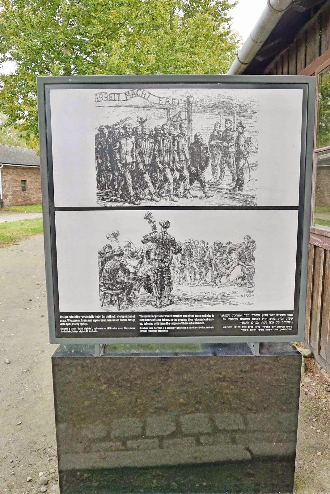 Auschwitz Gate Work Sets You Free