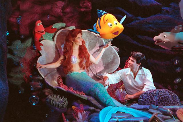 Onde encontrar a princesa Ariel nos parques da Disney