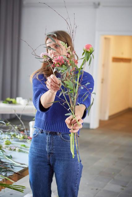 Blumen Workshop Koeln GOLDREGEN Nina  2 Jules kleines Freudenhaus