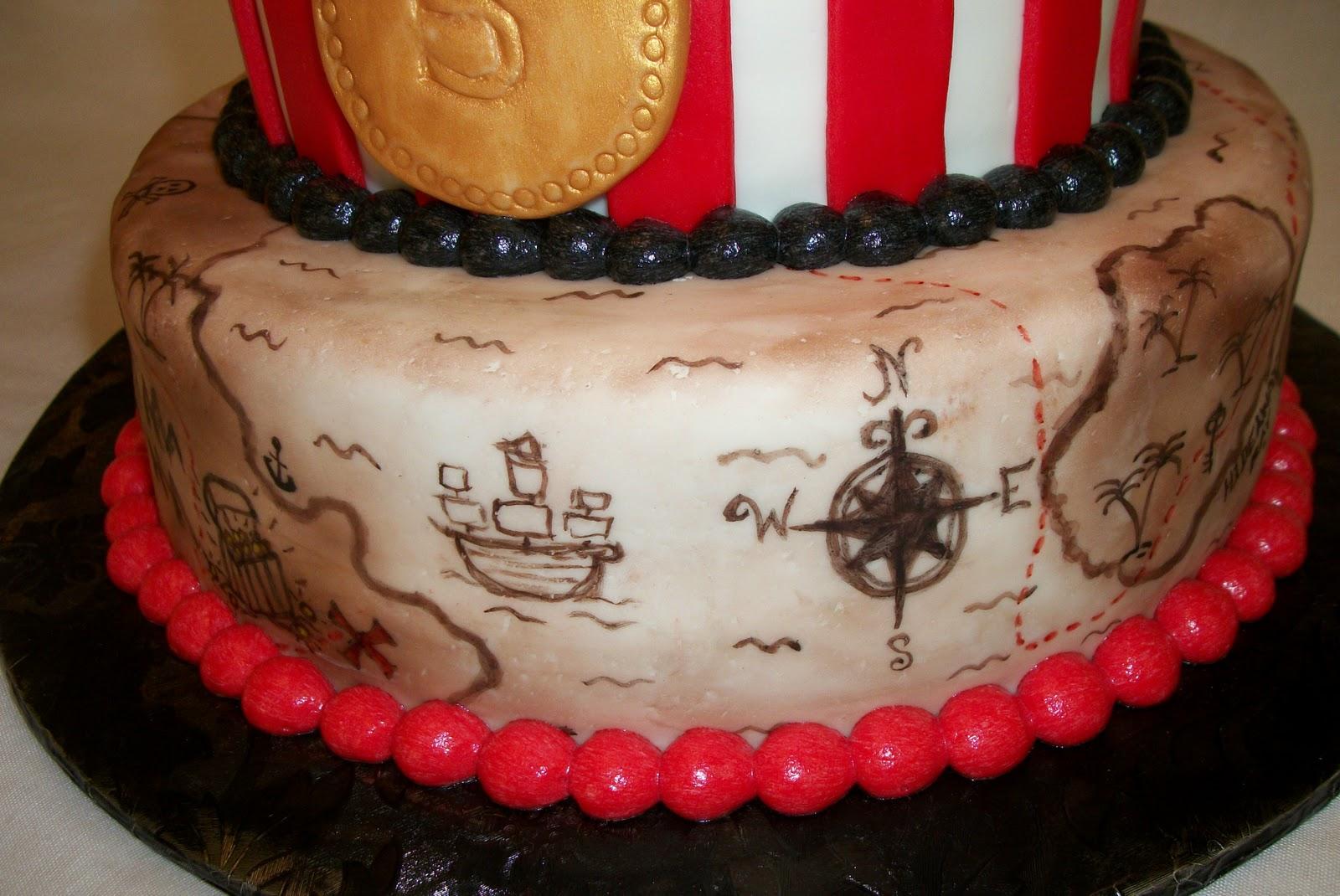 Bellissimo Specialty Cakes Pirate Birthday Cake