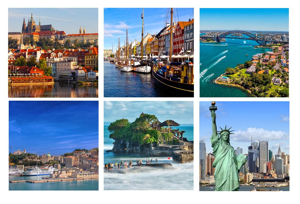 Travel: Six Cities I'm Lusting Over   Travel Blogger   Prague, Copenhagen, Bali, Sydney, Ancona, NYC   Hollie In Wanderlust
