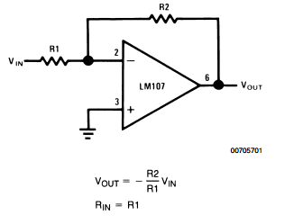 AmplifierCircuits com: Op Amp Circuit Collection - Basic