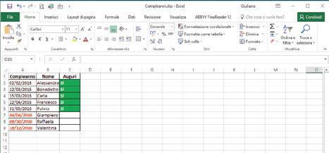 Come fare la formattazione condizionale in Excel prima e seconda regola