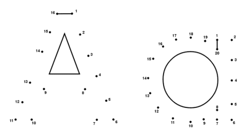 Free for kids: Letter Aa Dot-to-dot