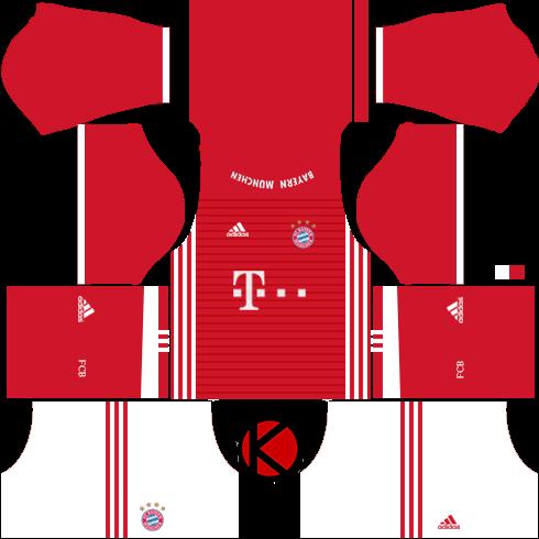 Bayern Munich Jersey (kits) 2016/17 - Dream League Soccer Kits and FTS15
