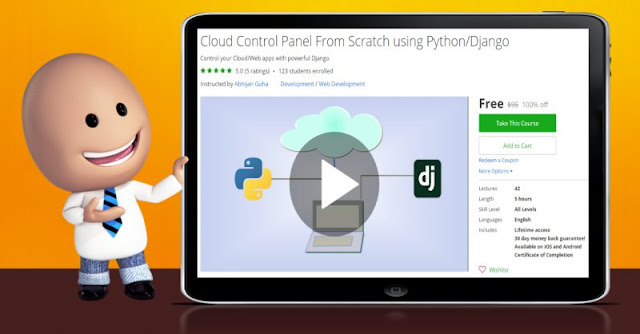 [100% Off] Cloud Control Panel From Scratch using Python/Django| Worth 95$