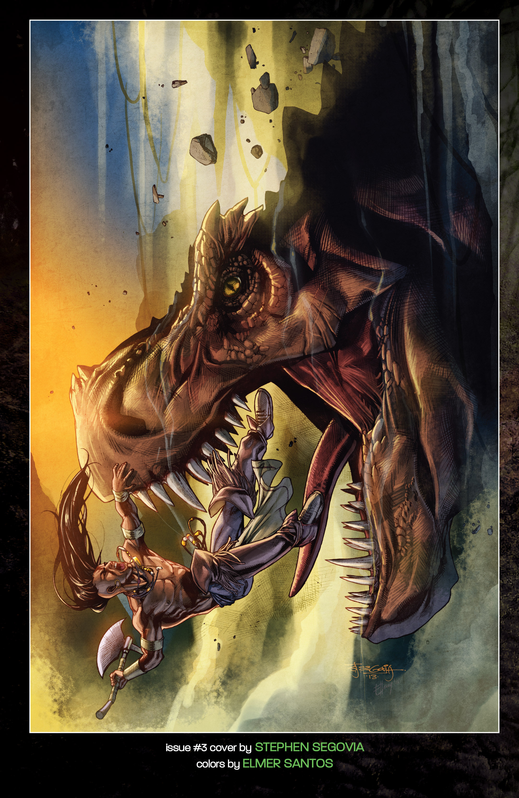 Read online Turok: Dinosaur Hunter (2014) comic -  Issue # _TPB 1 - 141