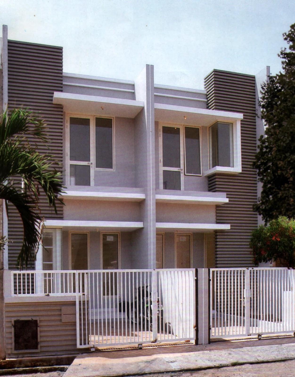 70 Desain Rumah Mungil Minimalis Modern 2 Lantai Desain Rumah