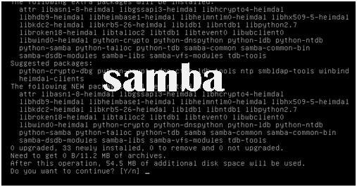 Cara installasi dan konfigurasi samba