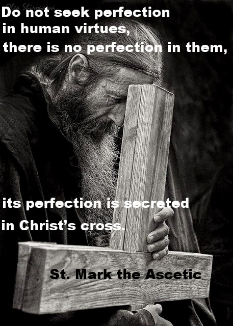 Do not seek perfection