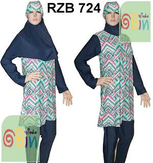 baju renang syari RZB 724