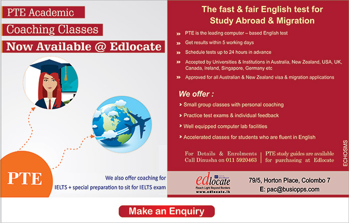 Pearson Test of English ( PTE) is now available @ Edlocate