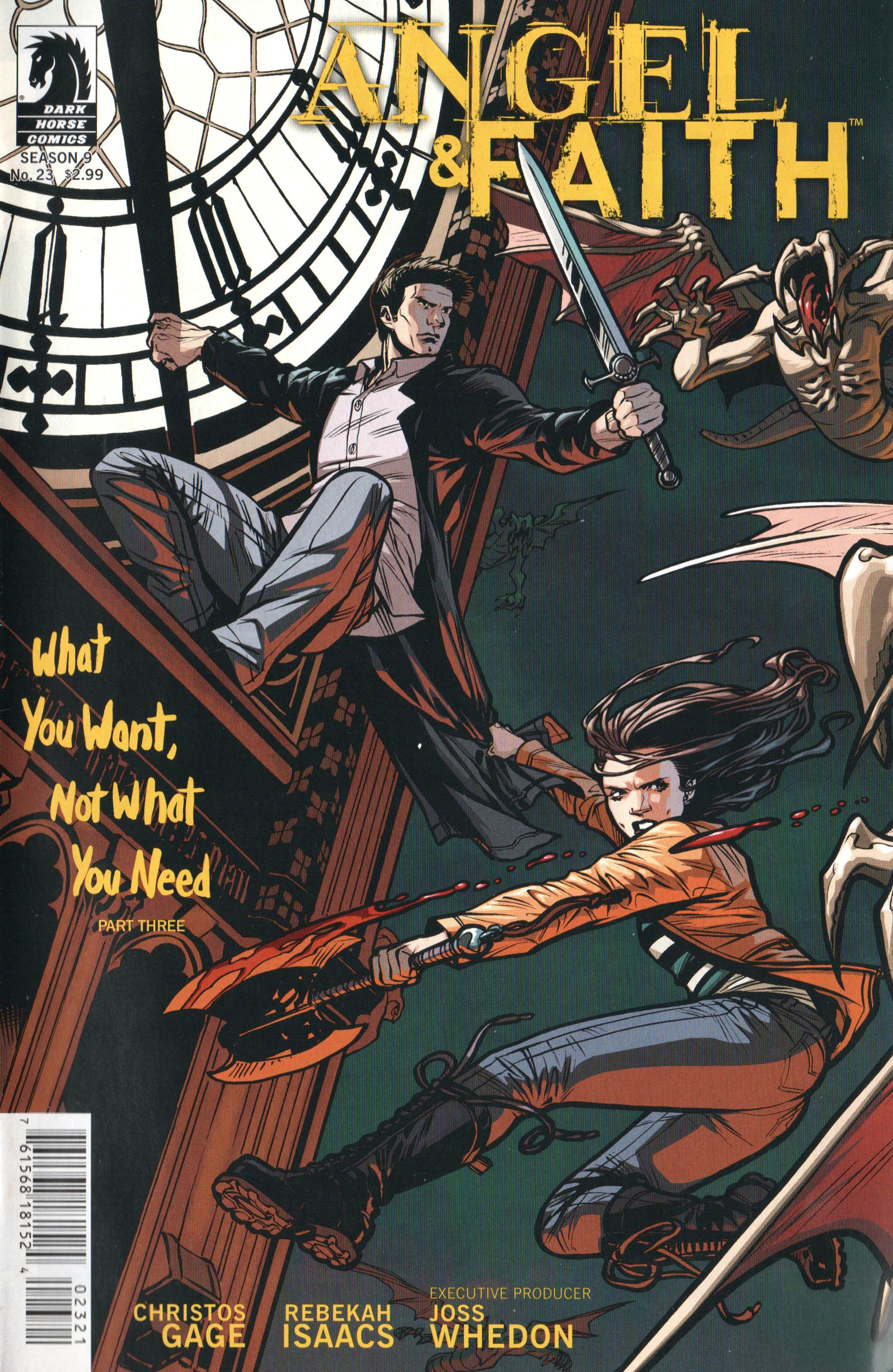 Read online Angel and Faith comic -  Issue #23 - 2