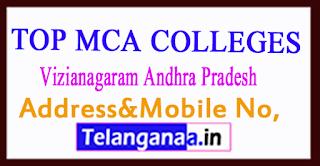 Top MCA Colleges in Vizianagaram Andhra Pradesh