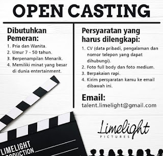 open casting audisi drama di limelight pictures ph drama net tv