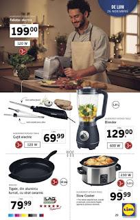 Catalogul LIDL 26 noiembrie - 2 decembrie 2018 slow cooker