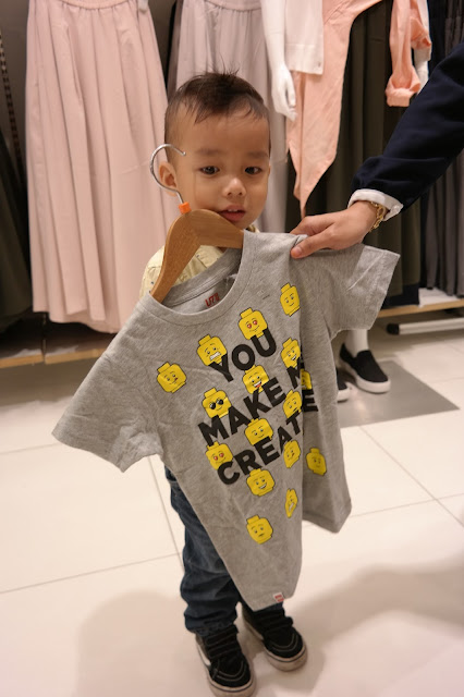 Uniqlo X UT, New T Lego Collection Events, uniqlo, uniqlo malaysia, nuffnang, nuffnang events, lego with kids, lego tshirt, UT Lego,