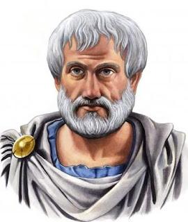 Аристотель. Портрет акварелью, сделанный учеником философа А.Ф.Македонским