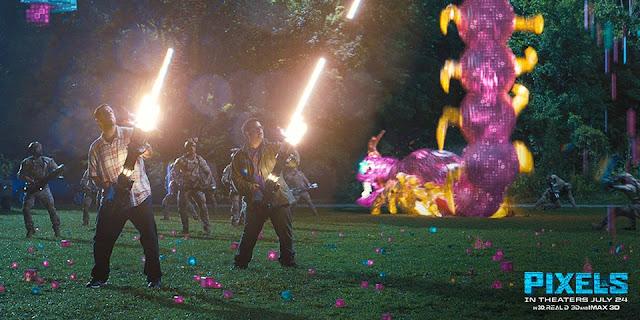Pixels Movie (2015)