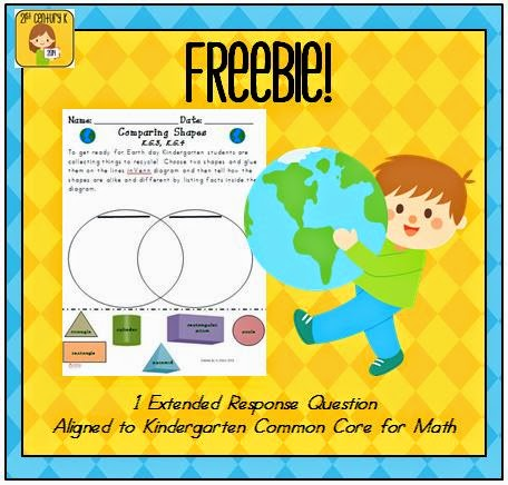 http://www.teacherspayteachers.com/Product/Earth-Day-Kindergarten-Math-Extended-Response-FREEBIE-716434