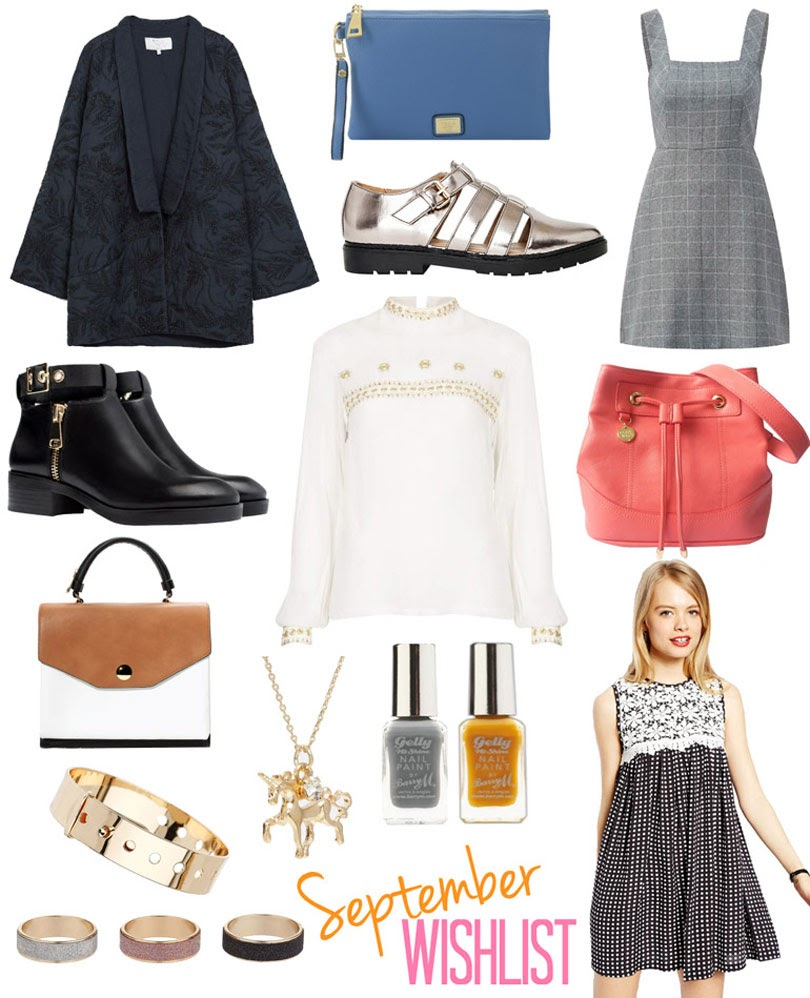fashion high street wishlist september 2014