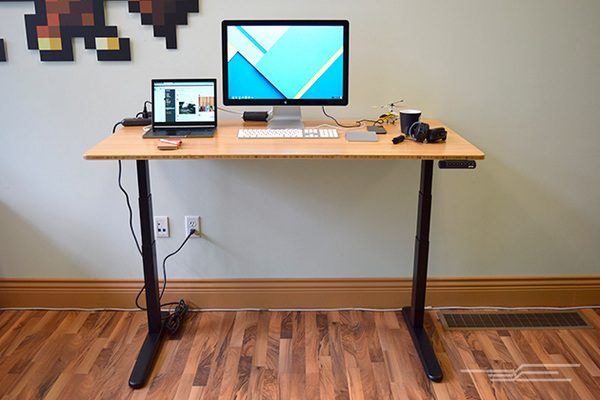 getting used to a stand up desk