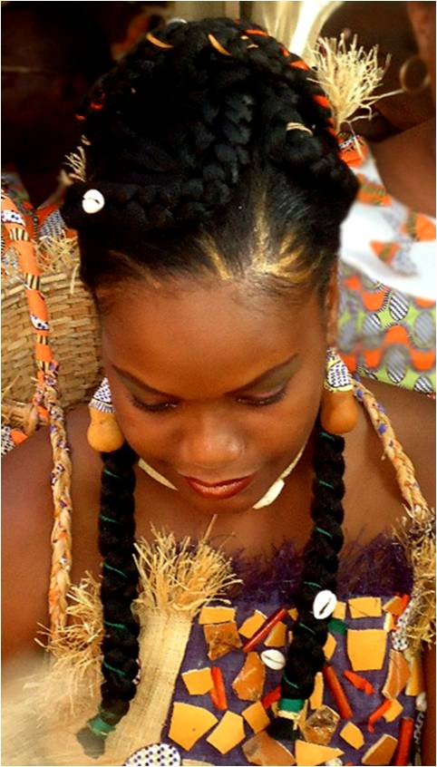 Coiffure Pour Mariage Traditionnel Africain Sararachelbesy