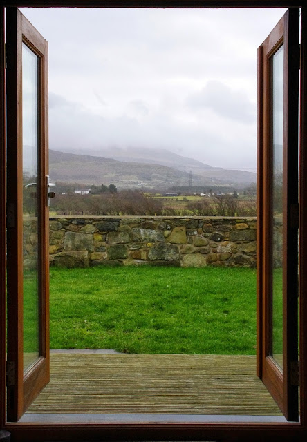 View of Snowdonia from Cottage in Wales