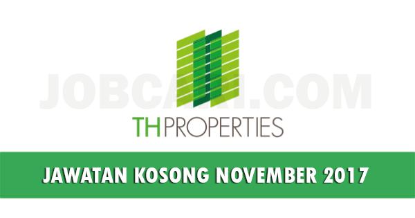 Jawatan Kosong di TH Properties Sdn Bhd