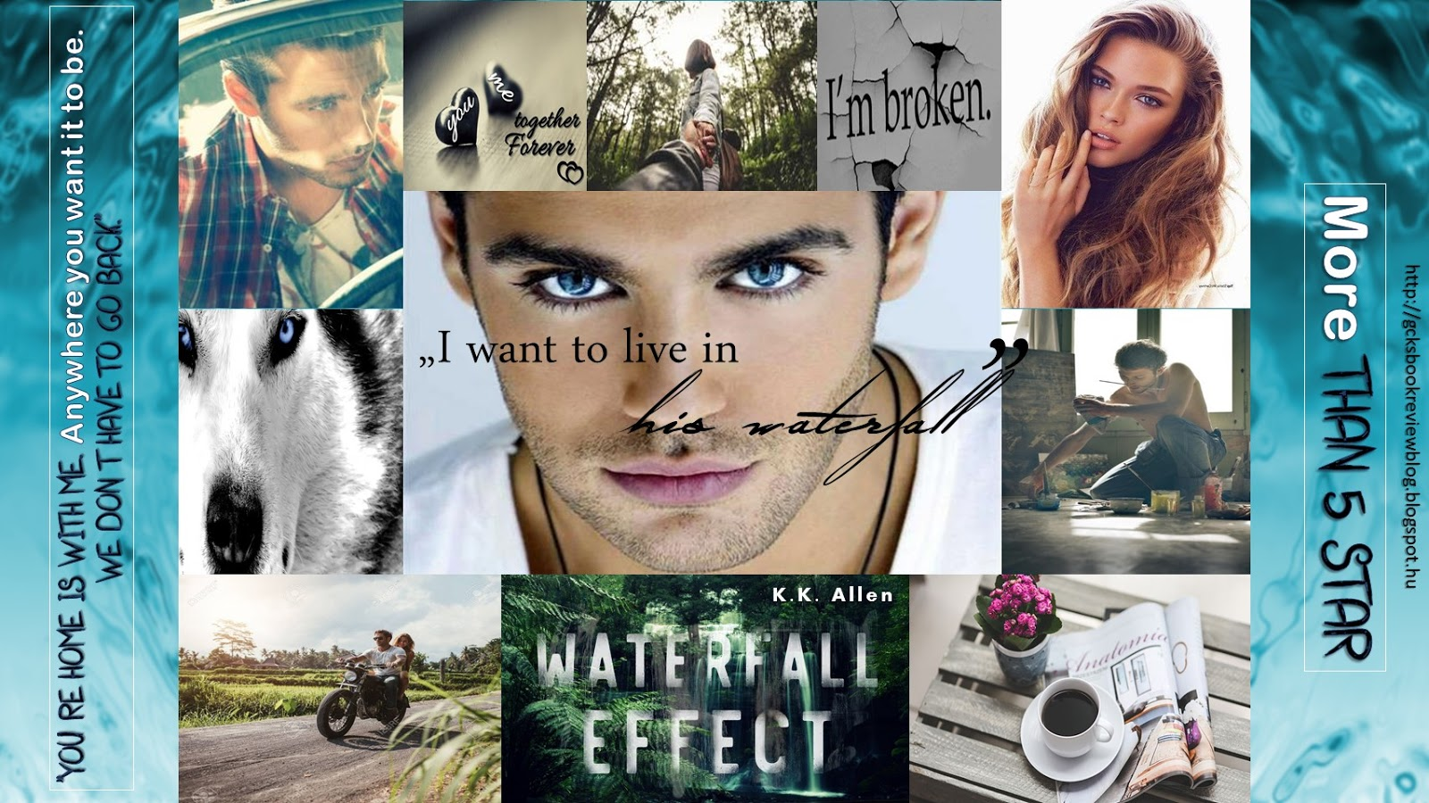 ARC Review - Waterfall Effect by K.K. Allen
