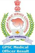 GPSC Medical Officer Result