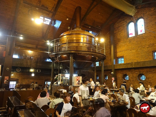 Restaurant de Sapporo beer à Hokkaido