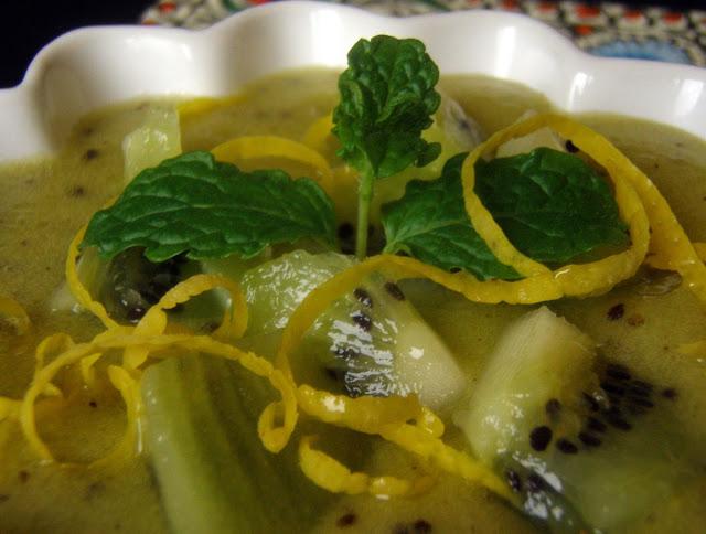 kiwi Słodki mus na bazie kiwi