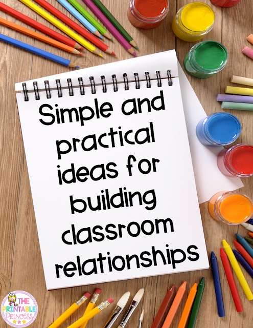 Learning how to build relationships with students is essential for every teacher - new AND veteran alike! This blog post will outline ideas and strategies you can use to build relationships with your students and their families in those first few weeks of school. It'll take just a few extra minutes of your busy day, but the end result will be more than worth your time. Great ideas for the preschool, Kindergarten, 1st, 2nd, 3rd, 4th, 5th, or 6th grade teacher to using during back to school!