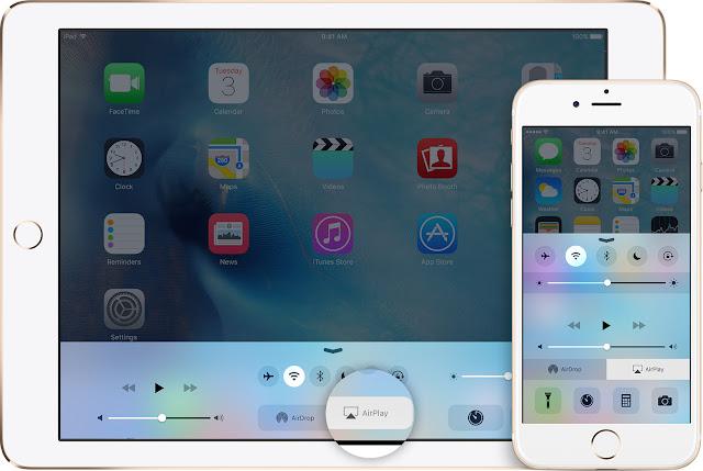 AirPlay on iOS iPhone/iPad