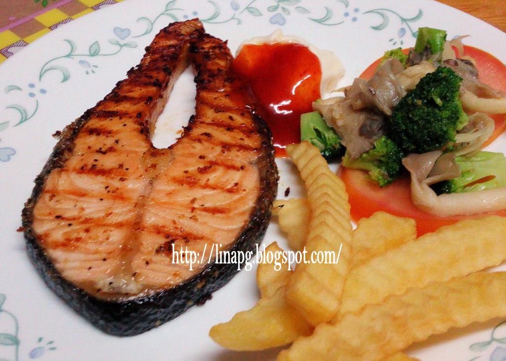 Resepi Grill Salmon Teratak Mutiara Kasih